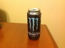 Monster Energy Drink 16 oz. Collectible Lo Carb Can Call of Duty Ghosts