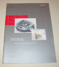 Audi A4 B6 - 2,0 l V5-Motor / 3,0 l V5-Motor - SSP 255 -  Stand 2001!