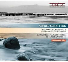 Maria Lettberg, A. Schnittke - Piano Concerto No 2 [New CD] O-Card Packaging