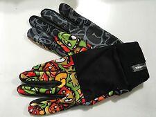 Celtek Ruble Gloves Leather Palm 5 finger touchscreen compatible Eyes Pattern L