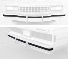 80-85 & 86-90 Gm Impala Caprice Bumper Impact Rub Strip Cushion set 7037-050/044