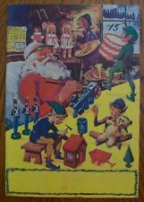 Classics Illustrated - Christmas Giveaway - Rare Blank Ad