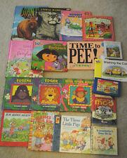 Lot of 18 Children's books Dora Nursery Rhymes D.W. First Tomato Fairyland