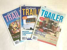 Vintage Trailer Magazine 3 Back Issues (30, 34 & 36)