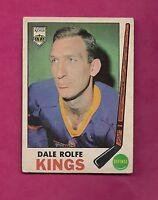 1969-70 OPC # 100 KINGS DALE ROLFE VG CARD (INV# 8030)