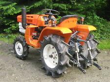 Traktor Schlepper Allrad Kubota B1400 gebraucht lackiert und überholt