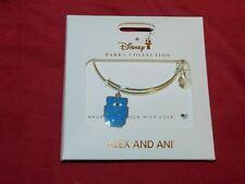 Disney Parks Alex And Ani Monsters Inc. University MU Logo Bracelet New