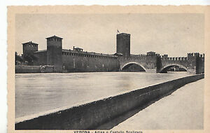 Italy Postcard - Verona - Adige E Castello Scaligero    ZZ2387