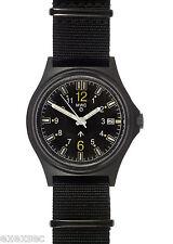 Mwc self lumineux g10sl militaire watch with gtls tritium tubes dans dans Covert pvd