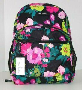 Vera Bradley Lighten Up Essential Backpack HILO MEADOW Bag School NWT