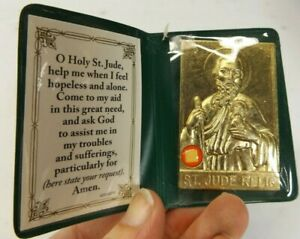 Religious Catholic Relic: St.Jude, Patron Saint of Hopeless Cases, pray for us
