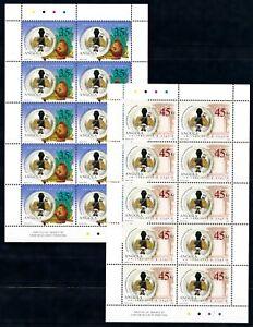 [PG20003] Angola 2002 : Good Set of 2 Very Fine MNH Sheets