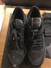 New Valentino Rockrunner Camouflage Camo Limited Mirabilia Black Men Shoe 9 $995