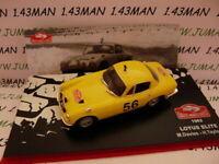 RMC5M 1/43 IXO altaya Rallye Monte Carlo LOTUS ELITE 1962 Davies/taylor #56