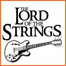 3010 Lord Of The Strings T-Shirt - X Large - Free Post - Gift Idea By Pholea