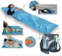 Single Liner Portable Silk Inner Travel Hostel Sheet Sack Camping Sleeping Bag