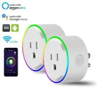 Mini Smart Plug Outlet WiFi Socket Night Light for Amazon Alexa Google Home