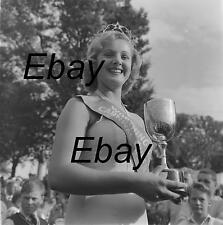 B/W 6x6 Negative Worthing West Sussex Carnival Queen 1950s 1960s