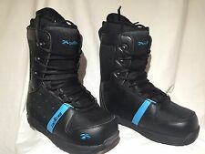 Snowboard boots Snowjam Spice Sapphire Black and Blue Ladies/Girls Size 7 NEW