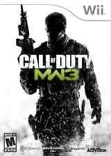 Call of Duty Modern Warfare 3- Nintendo Wii New