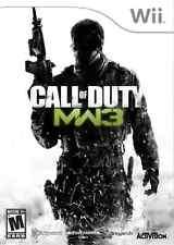 Call of Duty Modern Warfare 3- Nintendo Wii New
