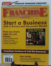 Franchise Handbook Start a Business Fuel Economy Winter 2015 16 FREE SHIPPING JB
