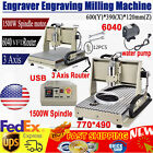 USB 3 Axis CNC 6040Z Engraving Miller Machine Wood Cutting Ball Screw DSP Router