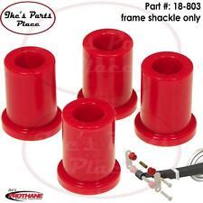 Prothane 18-803 Rear Frame Shackle Bushing Kit 89-04 Toyota Pickup/Tacoma-Poly