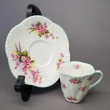 Shelley # 13426 Rosebud Demitasse Cup w/ #13429 Blossom Saucer Set MISMATCH