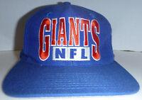 New York Giants NFL Football Vintage Drew Pearson Brand Snapback Cap Hat
