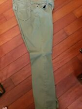 Womens jeans size 10 petite Westport. Light green stretch COMFORTABLE