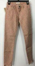 Ralph Lauren Denim And Supply Pink Floral Jeans Womens 27 Straight Leg New $98!!