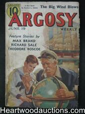 "Argosy Jun 19, 1937 ""Your Own Funeral"" by Cornell Woolrich"