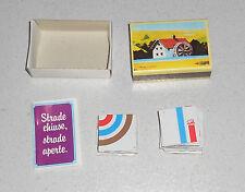 Mulino Bianco STRADE CHIUSE STRADE APERTE 1983 Sorpresina Promo Gadget