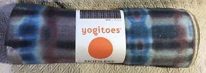 New MANDUKA Batik Yogitoes Yoga Mat Skidless Towel * 68 In x 24 In