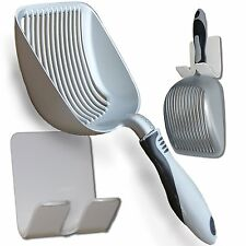 Dirty Cat Litter Scoop Non Stick Easy Kitty Box Cleaner Pooper Scooper Metal NEW