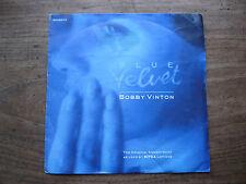 """VG+   BOBBY VINTON - Blue Velvet / Blue on blue - 7"""" single VG+"""