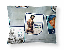Tom of Finland Sateen Pillowcase Camp 50 x 60 cm