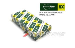 NDC MAIN BEARING SET STD FOR MAZDA WLAT WL-C BT50 B2500 E2500 FORD COURIER