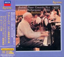 SACD ESOTERIC Brahms - Piano Concerto No. 2 - Backhaus, Bohm