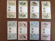Montserrat. Birds. OHMS. Complete Set In Pairs. SG O62-75. Unmounted Mint