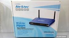 AirLive wla-9000ap 108 Mbps 802.11a/b/g dual radio ap, Wireless Access Point, nuevo