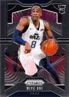 Miye Oni RC 2019-20 Panini Prizm Rookie Card #300 Utah Jazz NBA Basketball Base