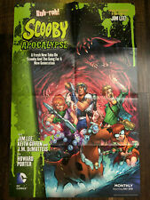 Scooby Apocalypse #1 DC Comic Folded Retailer Poster 24x34 Promo Jim Lee 2016