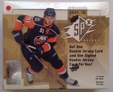2009-10 Upper Deck SPx Hockey HOBBY Box 18pk/4cd Rookie/Jersey/Patch?