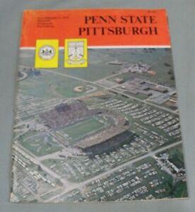 1970, Pitt vs Penn State Football Program, Beaver Stadium, Low Grade, Franco Ham