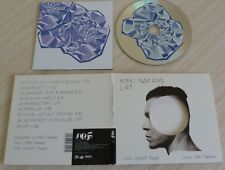RARE CD ALBUM DIGIPACK LIFT KOKI NAKANO VINCENT SEGAL 9 TITRES 2016
