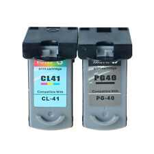 PG40+CL41 Ink Cartridge Compatible with Canon PIXMA iP1600 MP150 MP190 MP450 lot