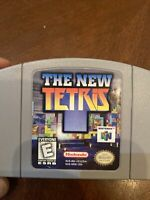 The New Tetris N64 (Nintendo 64, 1999) Authentic Game, Cleaned & Tested!