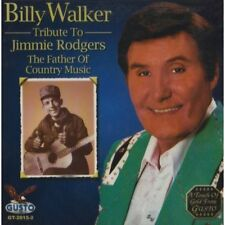Billy Walker - Tribute to Jimmie Rodgers [New CD]